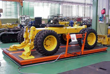 AeroPallets move a Tractor assembly line